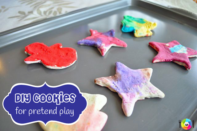 DIY Cookies for Pretend Play Recipe & How-To