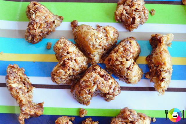 Healthier Crispy Rice and Oats Treats for Valentine's Day