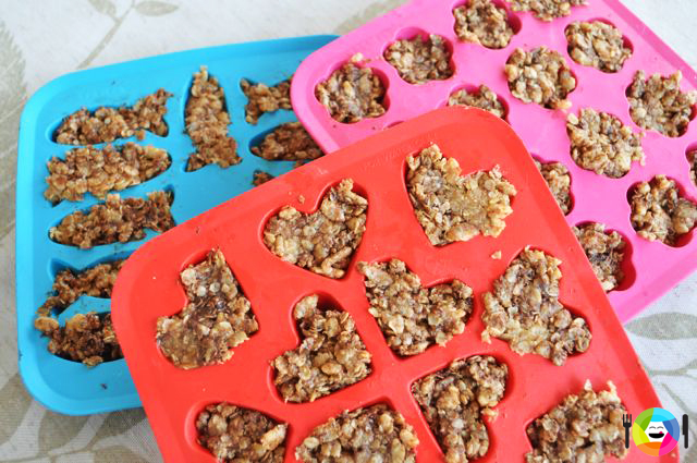 Healthier Rice Krispie Treats molds