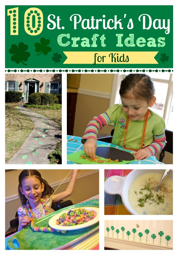 10 St. Patrick's Day Craft Ideas for Kids