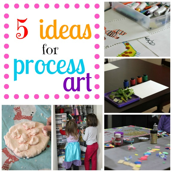 5 Ideas for Process Art