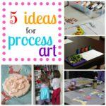 5 Ideas for Process Art