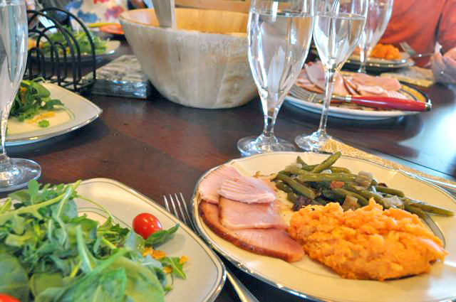 Southern Green Beans - The Table is Set