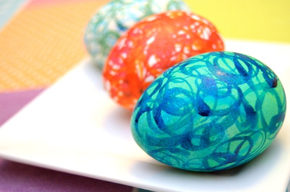 Decorating Easter Eggs with Kids