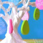 Kids Craft: Paper Bag Easter Tree!