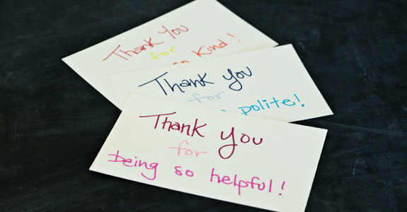 instant thank you cards