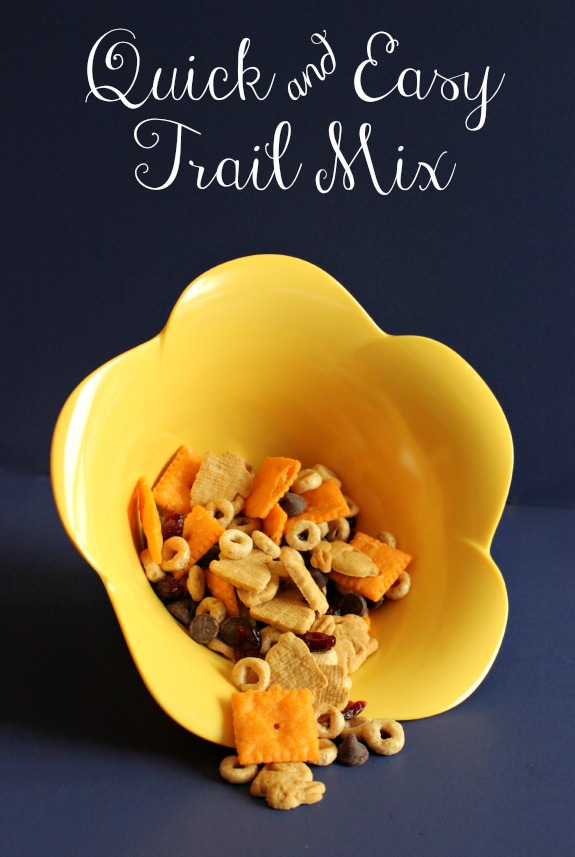 quick and easy trail mix kids will love