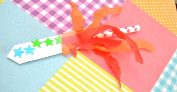 Kid Craft- Rocket Straws