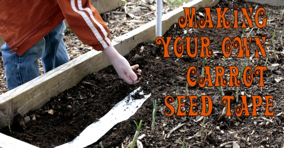 Make Your Own Seed Tape