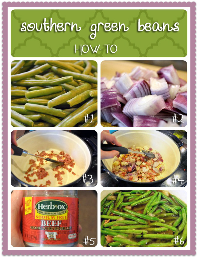 Southern Green Beans - How to Make