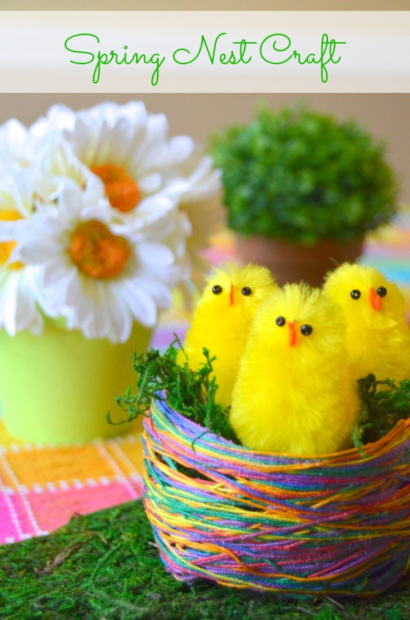 Spring Nest Craft