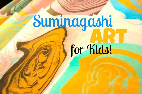 Suminagashi Art for Kids