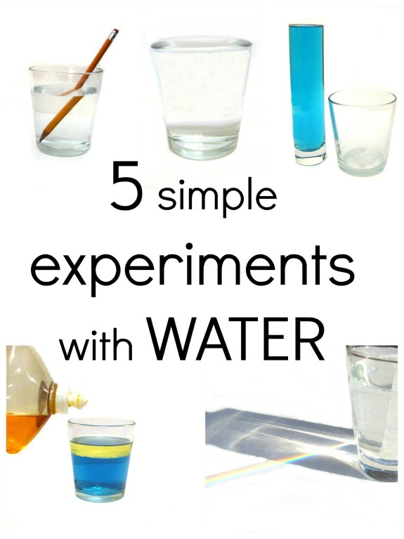 Simple Experiments with Water - Inner Child Fun