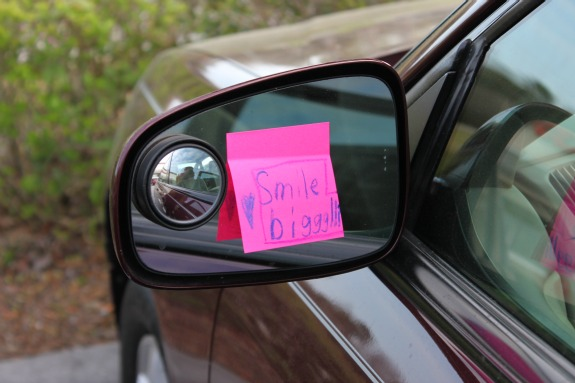 Leave a Happy Note to Make Someone's Day