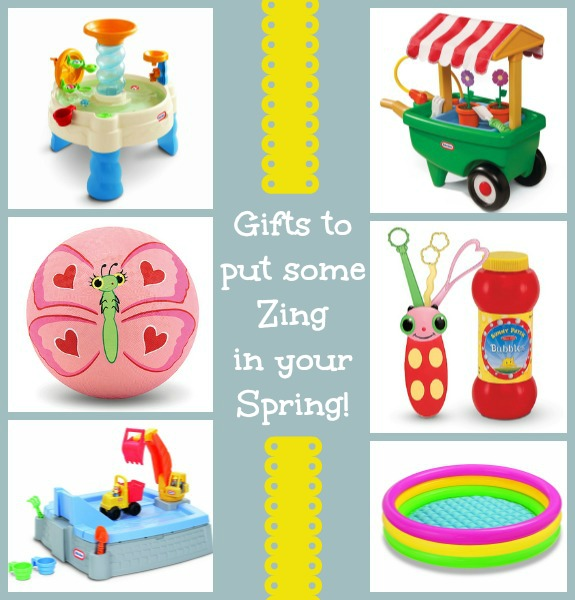 spring gift ideas for kids