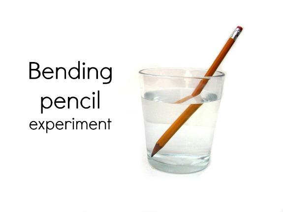 Bending Pencil Experiment