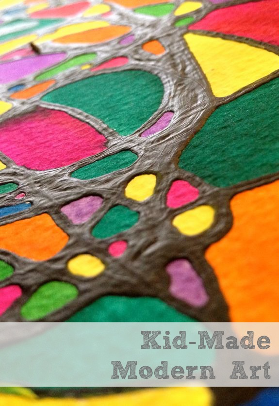 Rainy day fun 7 modern art projects for kids inner Fun painting ideas for toddlers