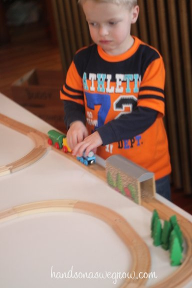 Early Problem Solving with Trains