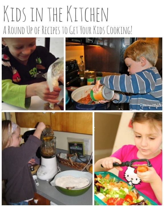 Kids in the Kitchen: A Round Up of Recipes to Get Your Kids Cooking