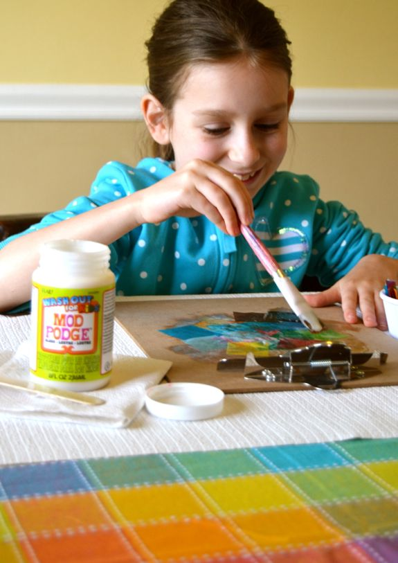 Kid Craft: Upcycled Clipboard