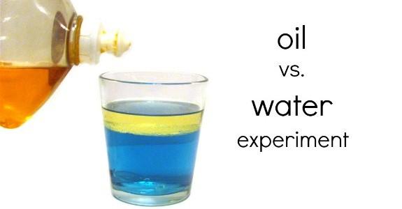 Как сделать эмульсию воды с маслом
