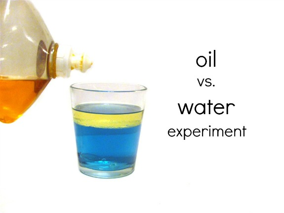 Oil vs Water Experiment