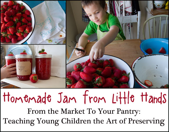 canning with kids