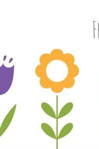 Free Printable — Spring Flower Matching Game