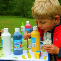 Using Blocks to Teach Your Child About Tints, Shades, and Mixing Colors