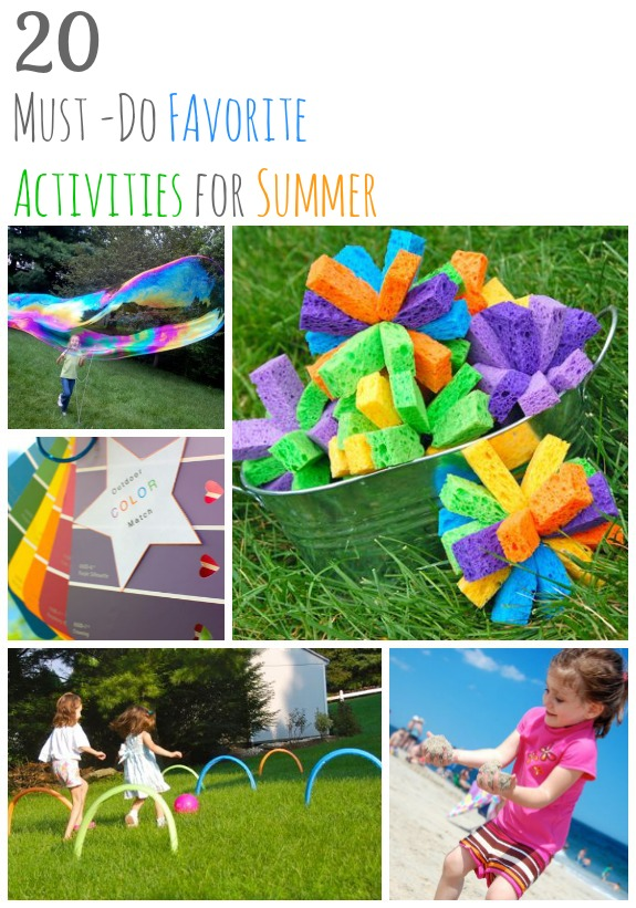 Must Do: 20 Favorite Must-Do Activities For Summer