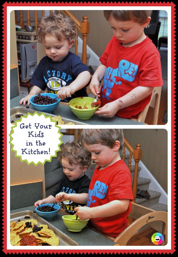 Kids in the Kitchen to Make Nachos