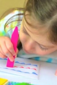 Patriotic Crafts for Kids- Easy Note Cards