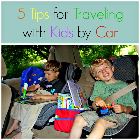 5 Tips for Traveling with Kids by Car