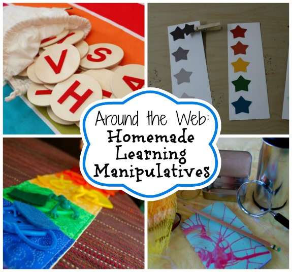 Around the Web: Homemade Learning Manipulatives