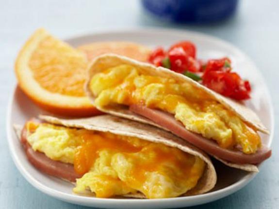 Pritikin Breakfast Quesadilla