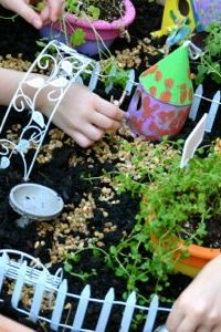 Let's Build a Fairy Garden Table!