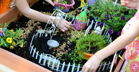 Lets Build A Fairy Garden Table Inner Child Fun