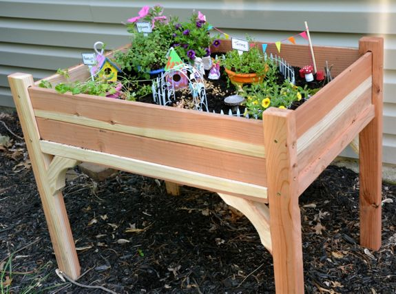 Pics Photos - Fairy Garden Table