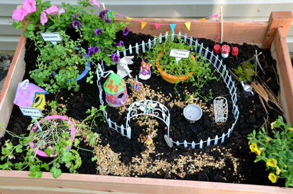 Let's Build a Fairy Garden Table! - Inner Child Fun on fairy art, winter wonderland fun, fairy craft, spring fun, summer garden fun, mother's day fun, sewing fun, fairy vintage, fairy village, fairy swing, thanksgiving fun, fairy forest, fairy house fun,