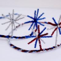DIY Fireworks Crowns