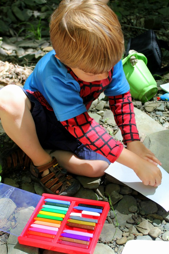 Fossil Hunting at the Creek