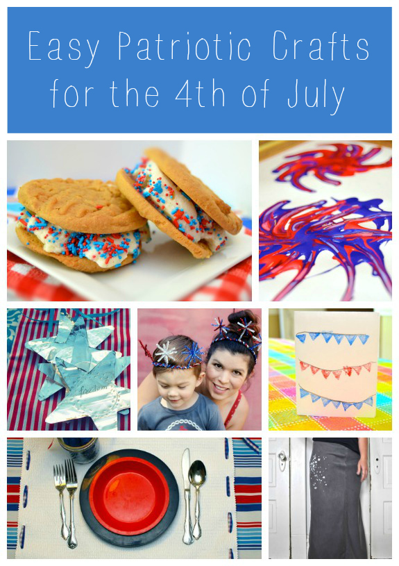 Easy Patriotic Crafts for the 4th of July | Inner Child Giving