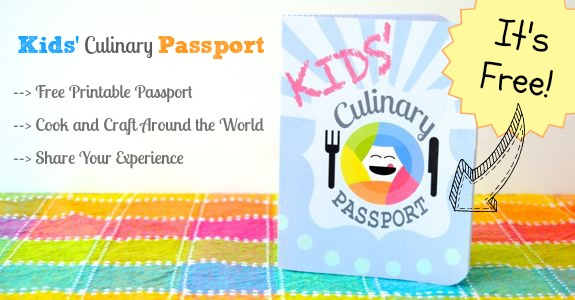 picture about Printable Passport Stamps for Kids titled Incorporating Small children Culinary Pport! - Interior Youngster Enjoyable