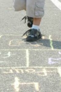 Learning in an Instant- Letter Sounds Hopscotch