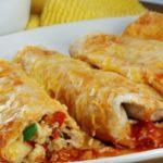 Turkey Enchiladas and Cinnamon Tortilla Dippers (Mexico)