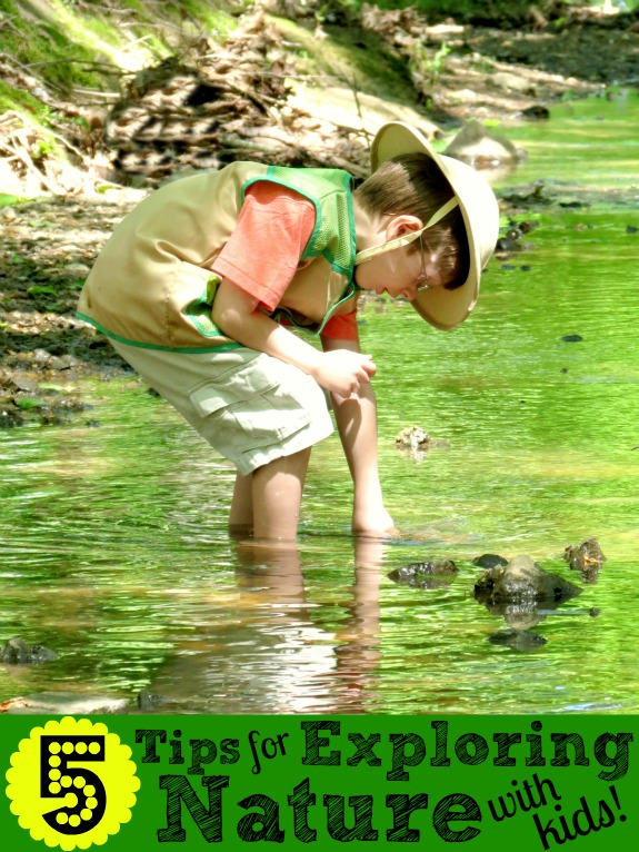 Exploring Nature With Children Diy Nature Explorer Packs: 5 Tips For Exploring Nature With Kids