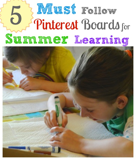 5 Must-Follow Pinterest Boards for Summer Learning