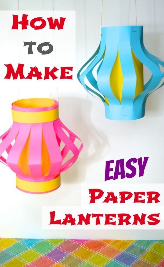 How To Make Easy Paper Lanterns Japan Inner Child Fun