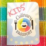 Kids Culinary Passport