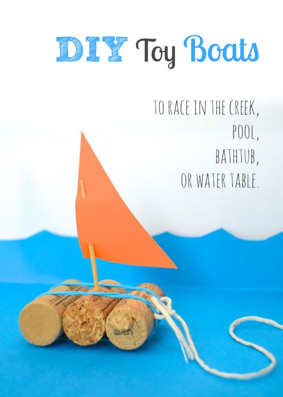 Quick Craft For Kids Toy Boats Inner Child Fun